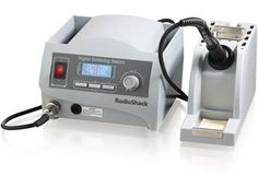 RadioShack® Digital Soldering Station a nice set of fine tips and solder would be good too!  Russ could use one of these