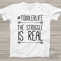Funny toddler shirt