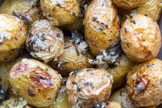 Mi toque en la cocina: Papas asadas al estilo de Jamie Oliver Jamie Oliver, Baked Potato, Muffin, Baking, Vegetables, Breakfast, Ethnic Recipes, Food, Breads
