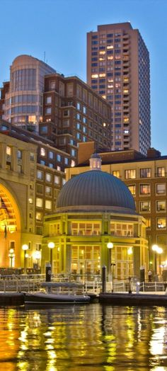 An iconic part of the cityscape, the hotel is between Boston's Financial District and harbor.