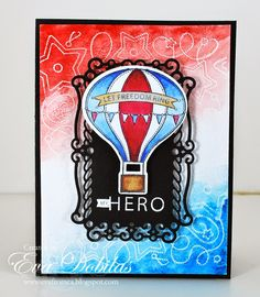 For the love of life: JustRite Papercrafts: Let Freedom Ring Clear Stamp