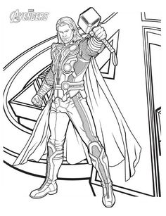 Avengers Logo Coloring Pages from Avenger Coloring Pages. The Avengers is MARVEL's greatest heroes. They protect the planet from evil. All children and adults dream of possessing their superpowers. Avengers Coloring Pages, Superhero Coloring Pages, Sports Coloring Pages, Lego Coloring Pages, Marvel Coloring, Online Coloring Pages, Disney Coloring Pages, Coloring Pages For Kids, Coloring Sheets