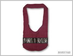 100 handmade cotton bag hippie cross body shoulder by SiamStyles, $14.90