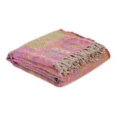 Paisley Wool Blanket - Blankets - Bedroom | Zara Home United Kingdom