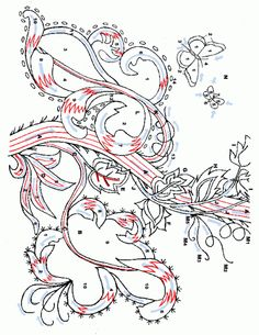 Jacobean Crewel Embroidery patterns-design.gif
