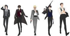 """ぬい右衛門 trên Twitter: """"パーツわけ仮色。 伊達さん以外はそんなに身長差なさそうかなと思ってるけどどうなんだろう…。警察学校組編楽しみ過ぎる… """" Police Story, Police Academy, Kurotsuki, Magic Kaito, Case Closed, Conan, Detective, Anime, Character Design"""