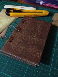 Handmade book.
