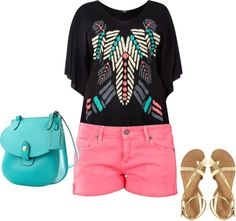 tribal shirt, created by lackey-lack on Polyvore