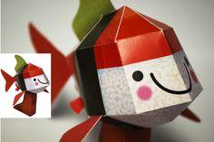Peces para ayudar a Japón- paper kois