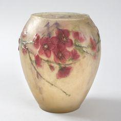 French Art Deco Pâte-de-Verre Vase by Argy-Rousseau
