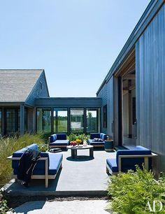 Design team Ashe + Leandro create a rustic-chic home on Martha's Vineyard.