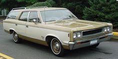 1968 AMC Rebel 770 station wagon