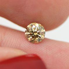 loose Diamonds : Fancy Brown Round Loose Diamond Carat GIA Certified For Engagement Ring - Buy Me Diamond Diamond Color Scale, Colored Diamonds, Brown Diamonds, Gia Certified Diamonds, Luxury Jewelry, Diamond Earrings, Fancy, Engagement Rings, Gemstones