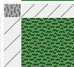 draft image: 16448, 2500 Armature - Intreccio Per Tessuti Di Lana, Cotone, Rayon, Seta - Eugenio Poma, 16S, 20T