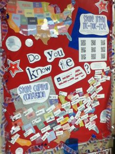 Do you know the USA? Interactive Bulletin Board