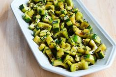 Kalyn's Kitchen: Chinese Cucumber Salad Recipe