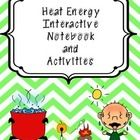 What is heat energy and where does heat energy come from? Use these investigations to engage your students in learning about heat. Science Labs, Science Fun, Science Lessons, Teaching Science, Teaching Resources, Teaching Ideas, Heat Energy, Thermal Energy, Science Notebooks