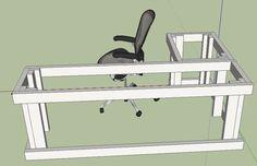 u shaped desk diy - Bing Images