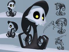 Lil' Grim by rebel-penguin.deviantart.com on @deviantART