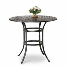High top bistro tables on pinterest patio tables for All american furniture warehouse