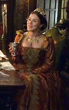 Anne of Cleves (The Tudors) They did not like her German Style Fashion and she was much criticized.