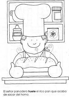 Menta Más Chocolate - RECURSOS y ACTIVIDADES PARA EDUCACIÓN INFANTIL: Cuadernillo de actividades de LOS CINCO SENTIDOS Colouring Pics, Coloring Pages For Kids, Adult Coloring, Coloring Books, Art Drawings For Kids, Drawing For Kids, Painting For Kids, School Coloring Pages, Math Groups