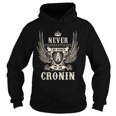 I Love CRONIN CRONINYEAR CRONINBIRTHDAY CRONINHOODIE CRONINNAME CRONINHOODIES  TSHIRT FOR YOU Shirts & Tees