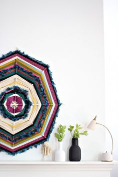 DIY Woven Wall Decor