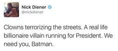 Funny 2016 Election Memes: We Need You, Batman