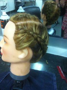 Dutch braid dolly