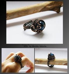 Ida- wire wrapped ring by mea00 on deviantART