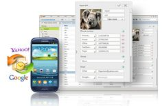 Kies    Experience Kies!  Use Samsung's desktop software  to transfer music, contacts, and  photos, update software, and sync  wirelessly from your phone or tablet.