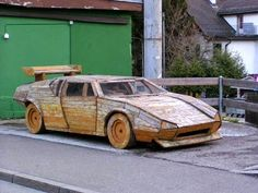 Lamborghini Espada, Nintendo Switch System, 3d Printer Projects, Wooden Car, Weird Cars, Karting, Home Repairs, Future Car, New Tricks