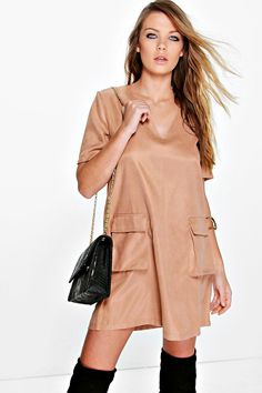 Adriana Lace Up Shift Dress - Dresses - Street Style, Fashion Looks And Outfit Ideas For Spring And Summer 2017 Blush Dresses, Color Beige, Bodycon Fashion, Dress Collection, Beautiful Outfits, Dress To Impress, Dresses For Sale, Fashion Looks, Style Fashion