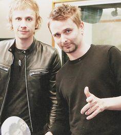 Matt Bellamy & Dom Howard from Muse