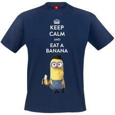 Keep Calm And Eat A Banana koko M
