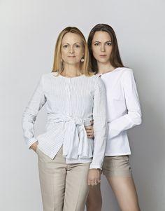 Elise Gug: Shirt 0660/254,  pants Palm/463R   Emilie Gug: Shirt Superlight/230S, shorts Palm/467