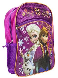 Fast Forward Disney Frozen Anna and Elsa with Olaf Backpack - 16in Disney http://www.amazon.com/dp/B00LV4PQQ2/ref=cm_sw_r_pi_dp_ue6Rvb1HRA0GQ