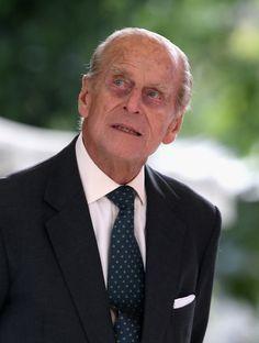 Prince Philip, Duke of Edinburgh visits Paris Flower Market on June 7, 2014 in Paris, France.