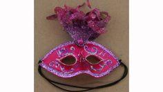 Fancy Mask Purple Ornament