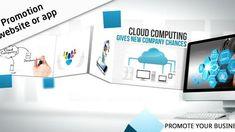 Promotion Website / App by _markon_ on Envato Elements