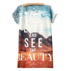 29,90EUR T-Shirt mit Fotodruck und Schriftzug