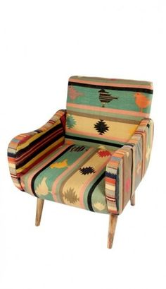 Southwest arm chair