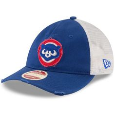 44b15ea34 Chicago Cubs 1984 Frayed Twill 9Twenty Adjustable Hat by New Era