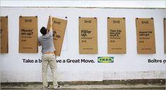 Ikea sacó sus cajas de cartón a la calle y dice que las ventas se incrementaron un 25% con la campaña