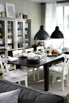 Charmant STORNÄS Extendable Table, Brown Black. Dining ChairsIKEA DINING ROOMDinning  ...