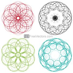 Geometric Circle Design – Free Vector Graphics Download | Free Vector Clip Art Packs | Free-Vectors.com