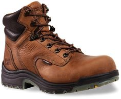 Women's Timberland Pro 6 inch Titan Safety Toe Boots, COFFEE, 7M