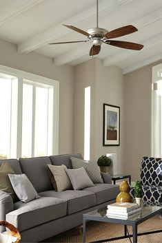 54 Best Living Room Ceiling Fan Ideas images | Living room ...