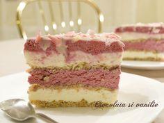 Feel pretty in pink. Mousse de zmeură